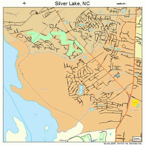 lakes in carolina map silver lake carolina map 3761950