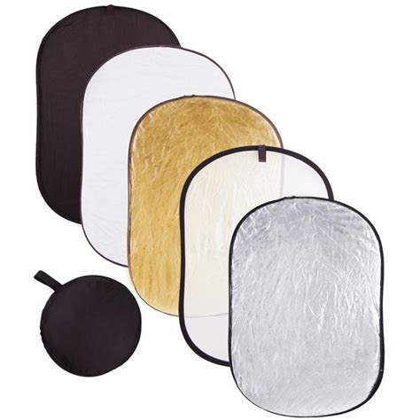 Godox Reflector Oval 2 In 1 Size 120x180 Cm Gold Silver 5 in 1 40x60 inch foldable photography lighting reflector the salon outlet