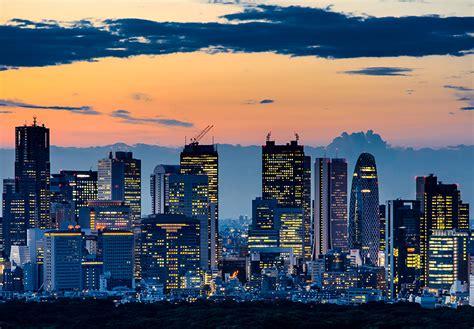 imagenes de japon de noche fondos de pantalla jap 243 n rascacielos cielo tokio noche