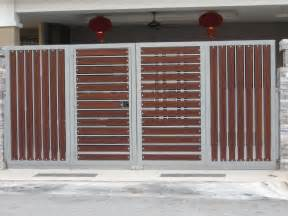 gate design for home new models photos gate for kerala home studio design gallery