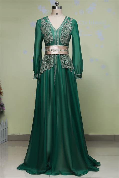Kaftan Teby Kaftan Katun Kaftan Renda 1 vestido longo de renda green sleeve evening dress arabic style evening dresses