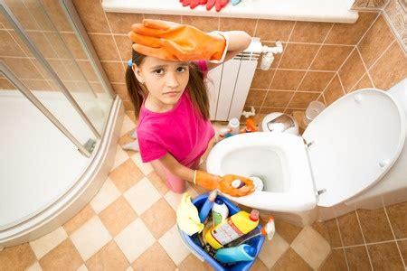 Cleaning The Bathtub by Bathroom Chores For By Age