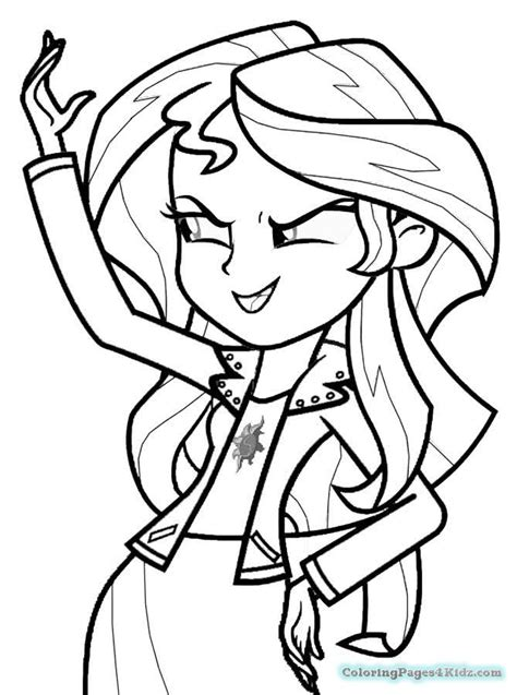 coloring pages of rainbow rocks my little pony equestria girls rainbow rocks coloring