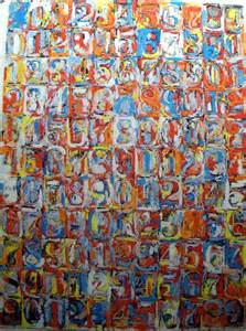 jasper johns numbers in color chucks crayons and a creativity color scheme