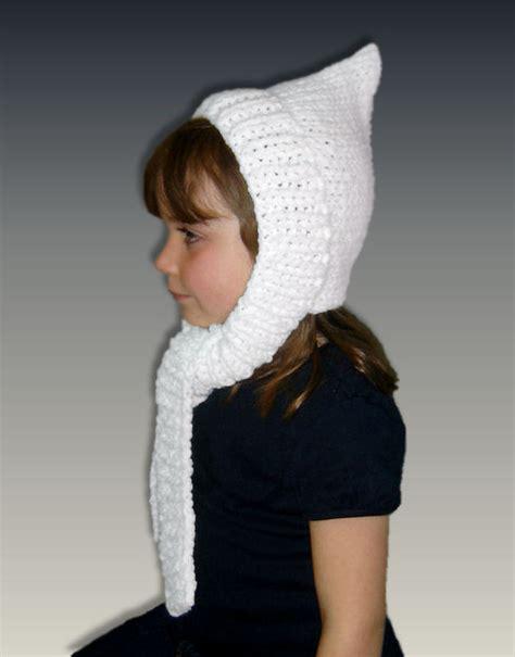 knitting patterns hat scarf combination pdf knitting pattern pixie hat scarf combo girls and