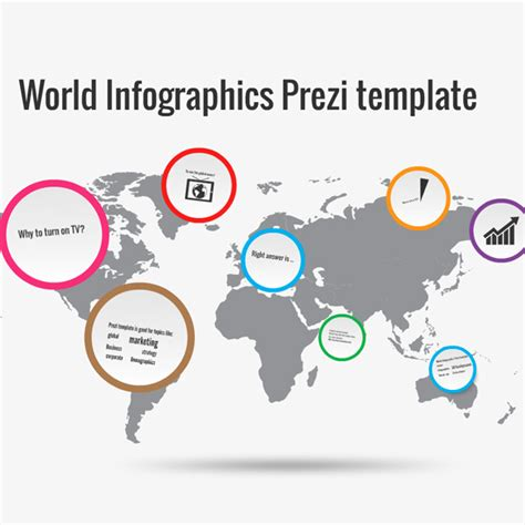 world infographics prezi template preziland