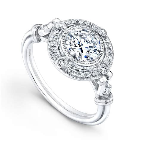 vintage wedding ring from tacori ipunya