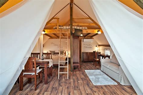 glamping tents garden village bled slovenia