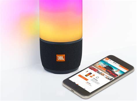 jbl light up speaker amazon jbl s latest pulse speaker is a party in a pocket pickr