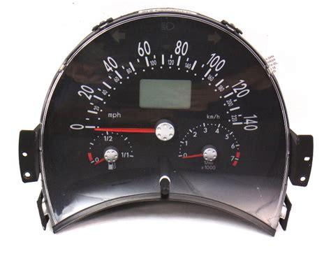 gauge instrument cluster   vw beetle  auto speedometer