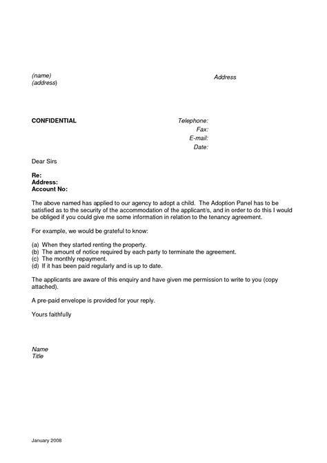 best photos of personal reference letter for tenant