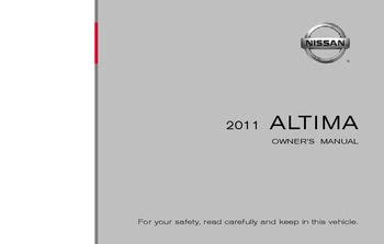 2011 Nissan Altima Owners Manual 2011 Nissan Altima Owner S Manual Pdf 446 Pages