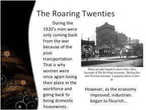 The Roaring Twenties 1920s Essay by The Roaring Twenties Essay