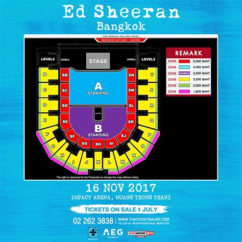 ed sheeran bangkok confirmed ed sheeran is bringing divide tour to southeast