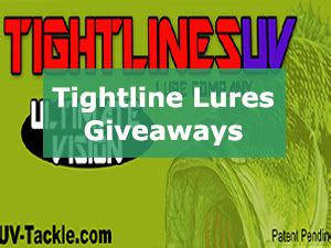 Fishing Lure Giveaways - oklahoma city tackle and hunting show
