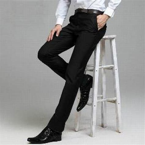 Kain Fit free ongkir celana kerja pria slimfit kain teflon celana