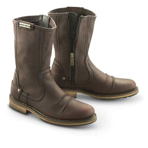 zipper motorcycle boots women s harley davidson 174 skylar zip boots burnt