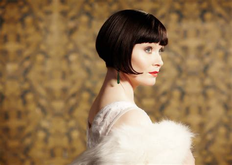 miss fisher hairstyle classic 1920s bob essie davis as phryne fisher hair