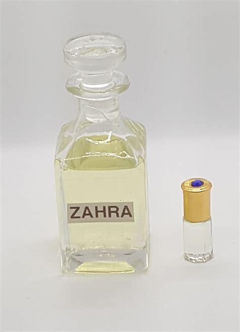 Parfum Zahra essence de parfum sans alcool zahra