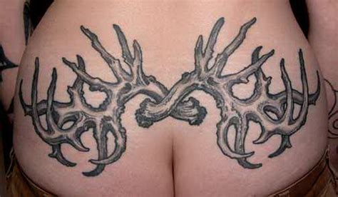 deer antler tattoos for men deer antler designs pictures to pin on