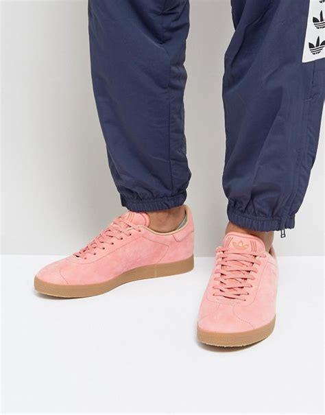 adidas originals adidas originals gazelle decon trainers in pink cg3706