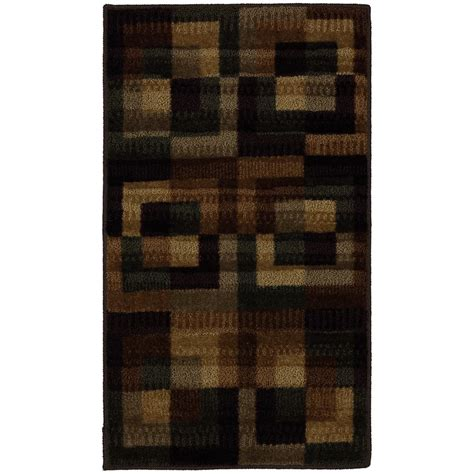 mohawk home accent rug collection mohawk home 20 in x 36 in fulbright smoke accent rug