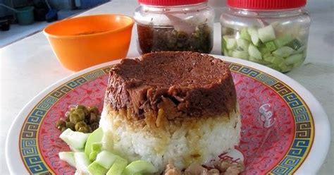cara membuat nasi tim yg enak resep cara memasak nasi tim merah putih enak dan nikmat