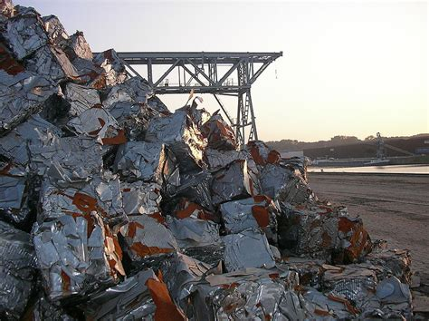 what does steel come from ferrous metal recycling