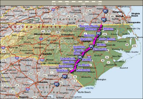 map carolina highways road pricing carolina seeking to convert interstate