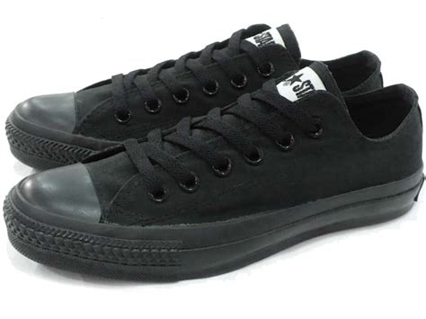 Converse Black Ox Low canvas converse all ox converse canvas all low
