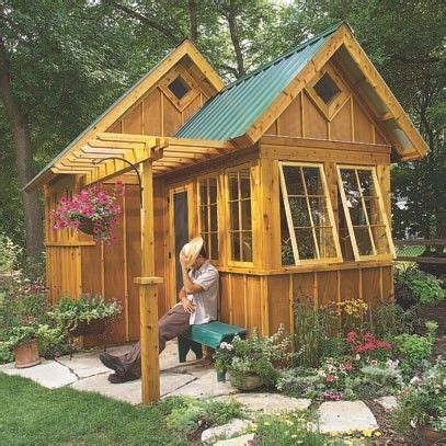 sheds connected  create tiny house yahoo