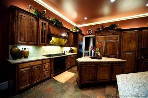 kitchen with brown cabinets pictures of kitchens traditional dark wood golden