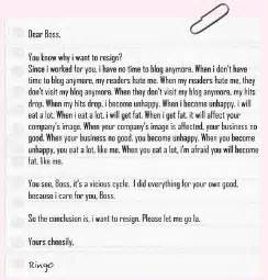 Resignation Letter Sl by Blunabagpreg Resignation Letter Exles