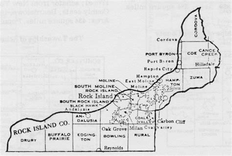 Rock Island County Records Rock Island County Illinois Maps And Gazetteers