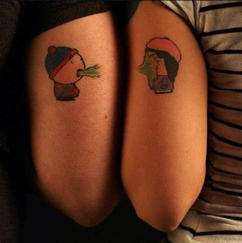worst couple tattoos 7 of the wackiest south park tattoos viral world