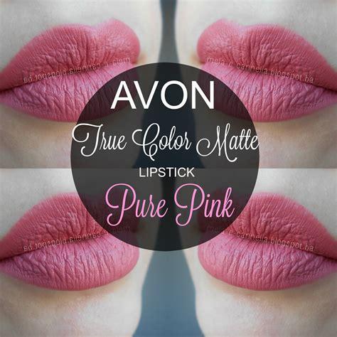 Lipstik Avon mela e cannella avon true color matte lipstick pink