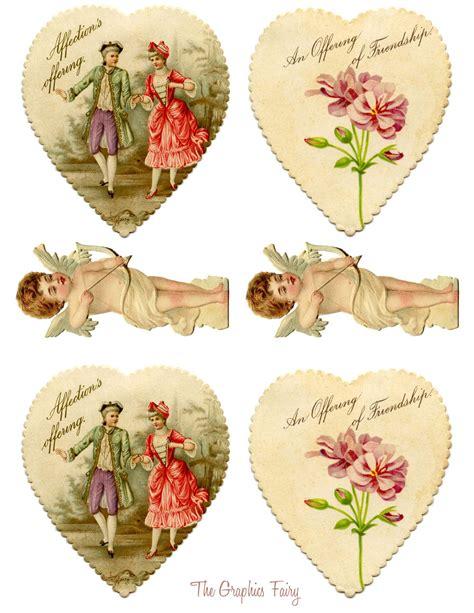 vintage printables valentines