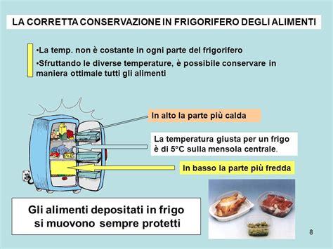 conservazione degli alimenti in frigo la conservazione degli alimenti ppt scaricare