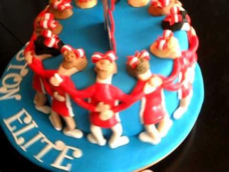cheerleading cake youtube