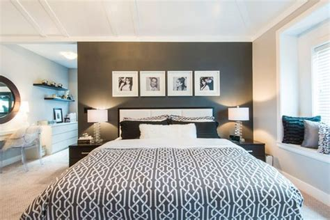15 elegant black and white bedroom design ideas style don t be afraid incorporating dark walls into your home