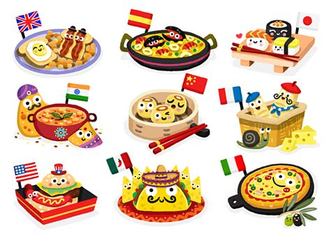 foods from around the world around the globe