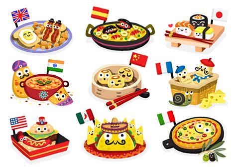 foods from around the world around the globe