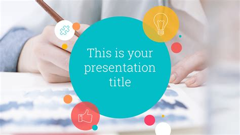 design template powerpoint keren kent free powerpoint template google slides theme