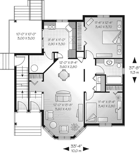 multi family house plans triplex 28 mulhall multi family triplex plan multi family