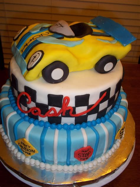 Race Car Baby Shower by Race Car Baby Shower Cakecentral