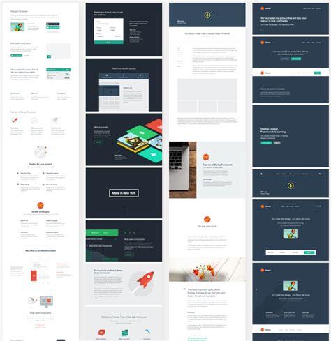 web design layout framework download designmodo startup web design framework suit