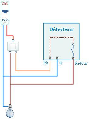 Interrupteur Detecteur De Mouvement Va Et Vient by Remplacer Va Et Vient Par Detecteur