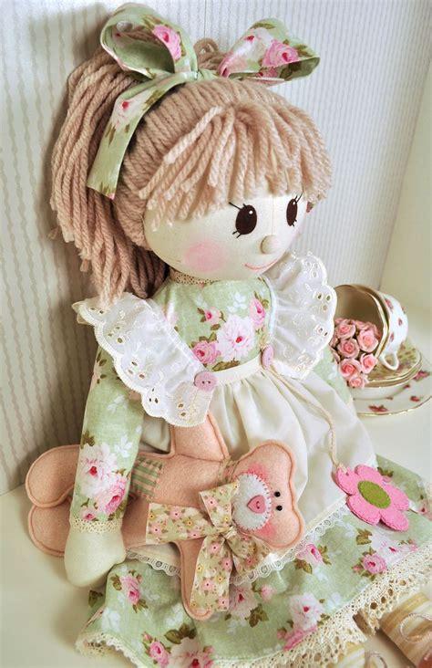 rag doll fabric 3682 best boneca de pano images on fabric