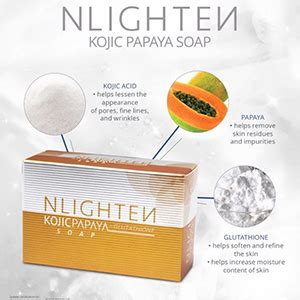 Gluta Fruitamin Soap 10 In 1 By Pretty White Thailand Bpom nlighten kojic papaya with glutathione soap