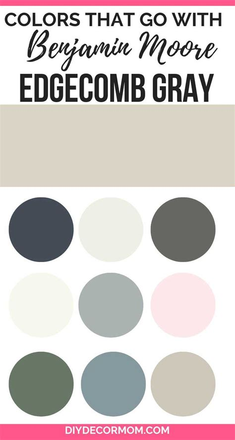 colors   edgecomb gray
